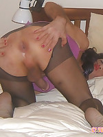 Sexy crossdressing sluts wearing some naughty stockings