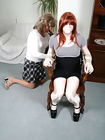 Lucimay gets gagged and tied to a chair