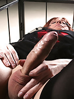 Naughty Tgirl Lucimay gets herself locked in a slave cage